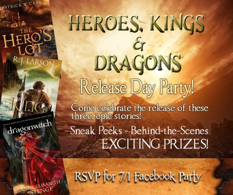 Heros and Kings FB party invite
